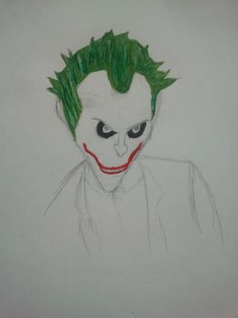 Joker drawings 2 by Mudley