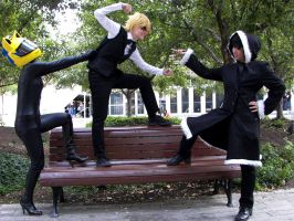 Durarara- Fight 2 by Ryukai-MJ