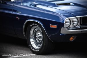 blueChallenger. by AmericanMuscle