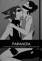 Paranoia cover (bw) by Wiiolis