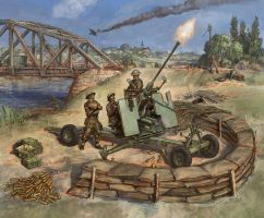 40mm Bofors Mk2 by art-bat