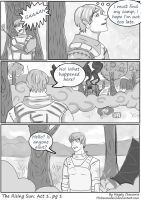 The Rising Sun: Act 1 pg1 by pinksnowdevil