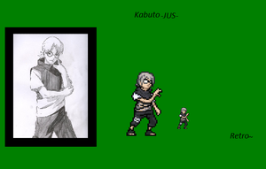 Something New: Kabuto JUS sprite by RetroMafioso