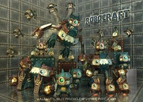 Robo Craft - 3D Version by MLSutandio