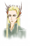 Thranduil: King of the Woodland Realm by patzy28