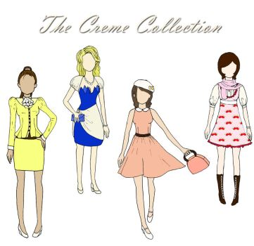 The Creme Collction by Insanity-Cake