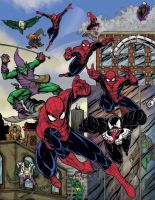 Spiderman 50 anniversary SDCC souvenir book 2012 by mdavidct