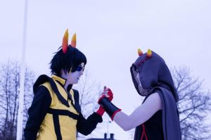 Allies - Ancestor Homestuck Cosplay by Mitternachto
