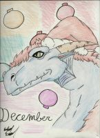 The Dragon of December by IncredibleCheese
