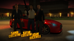 Samir Costayne / Kayar Costayne / Adam Rockwell by nnm74