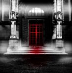 Premade BG The Red Door 2 by E-DinaPhotoArt