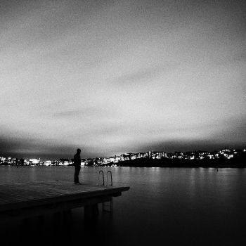 The Man And The Jetty by calleartmark