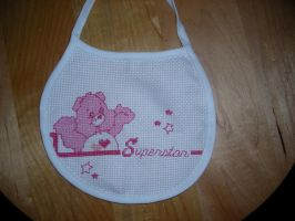 Carebear Bib by zentangerine