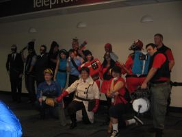 Megacon 10 TF2 Group by AccursedAsche