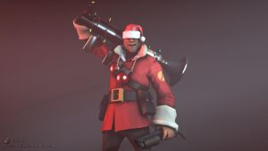 SFM Poster: Merry Christmas, from Solly by PatrickJr