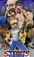 Street Of Rage By Blackexcell by Kenkira