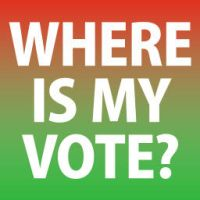 WHERE IS MY VOTE? by Vahitman
