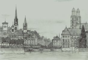 Zurich by bogtontrent