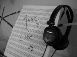 Music is Life by fugue-jaccuse
