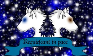 Requiescant in pace by WyldWerewolf