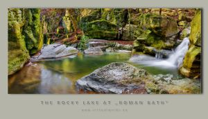 "Rocky Lake at ""Roman Bath"" by VirtualWords"