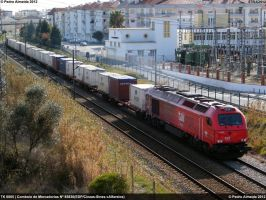 TK 6005 on full power 070312 by Comboio-Bolt