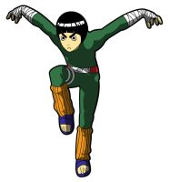 Naruto - Rock Lee by FabledSoul