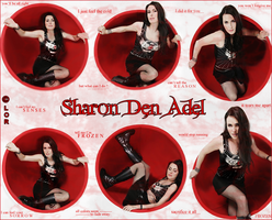 Sharon Den Adel by Dark-Rose-Memories