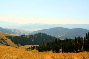 Mountains of Montana by aradosev2687
