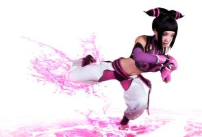 Juri Han SSF4 in Motion by VampBeauty