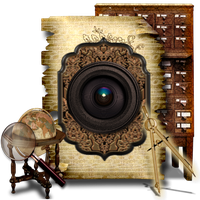 Secret Garden Camera PNG Library by TheAngeldove
