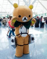 Rilakkuma/Attack on Titan crossover by EriTesPhoto