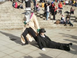 London Expo 09 - Earl and Tyki by AerithQueenOfCetra