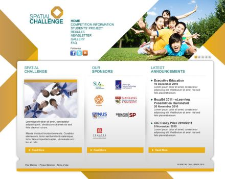 Spatial Challenge Mock01 by armanique