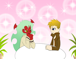 Scanty meets Bryan by Brouge4ever