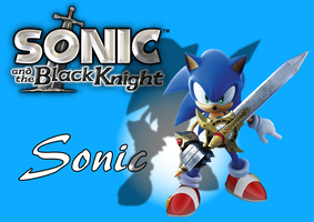 Sonic and the Black Knight - Sonic by BingotheCat