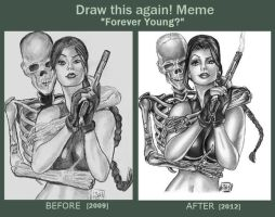 Before and After Meme - Forever Young? by Forty-Fathoms