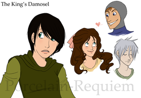 The King's Damosel Adaptation by Porcelain-Requiem