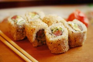 Philadelphia sushi roll 216_366 by eugene-dune