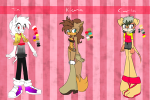 Mobian GIRL Mystery Bags Adopts REVEALED by Libra-Dragoness