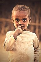 Ethiopian Child by MiguelGaudencio