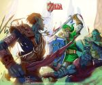 the legend of zelda by artnerdx