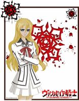 Vampire Knight Card - Delia Aido by BloodDiamondz