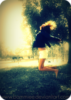 Falling up. by bammiee