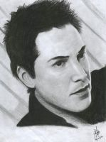 keanu reeves by cevansv