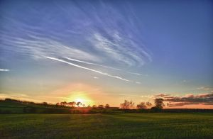 Northumbrian Sunset 1 by Rockin-billy