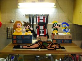 Large pixel blocks group by fate82
