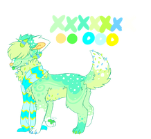 Sprinkle Dog adopt 2 -CLOSED- by WhiteTieAdopts