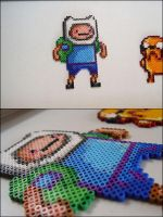 Adventure Time Finne bead sprite magnet by 8bitcraft