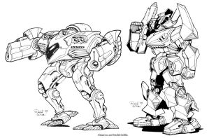 Battletech Mechs Part 2 by Mecha-Zone